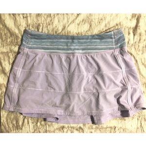Lululemon Lilac Skirt